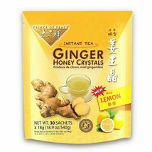 PRINCE OF PEACE Ginger Honey Crystals withlemon 30 Bag, 0.02 Pound - $16.48