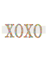 XOXO-Jewelry Tag-Clipart-Gift Tag-Holiday-Digital Clipart-Notebook-Scrap... - $2.00