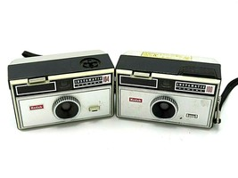 Vintage Kodak Instamatic Cameras Lot of Two (2) 100 s Lot of Two (2) 100... - $22.95