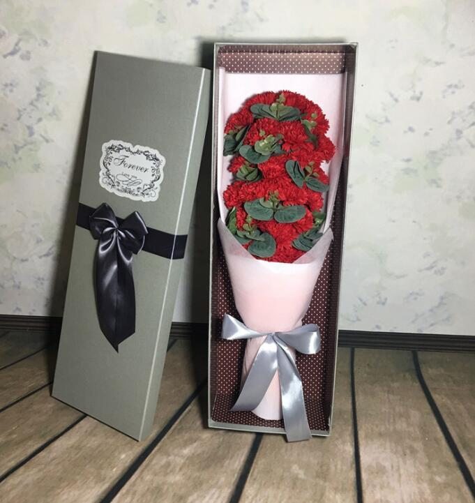 Gift 21 Carnation Soap Flower Creative Soap Mother's Day Gifts - $49.99