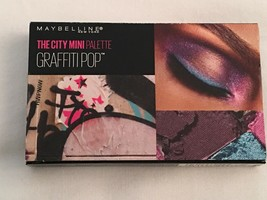 2pk-Maybelline The City Mini Eyeshadow Palette 450 Graffiti Pop - $8.79