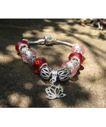 Haunted Blessings to Rise above Negativity Lotus spell cast charm bracelet - $88.88