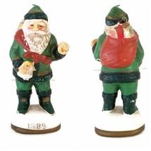 Memories of Santa Figurine Circa 1889 Christmas Ornament Reproduction  - $12.99
