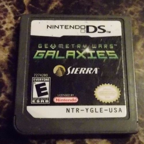 Geometry Wars Galaxies Nintendo DS [Used Good] Game Cartridge