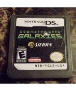 Geometry Wars Galaxies Nintendo DS [Used Good] Game Cartridge  - $12.98