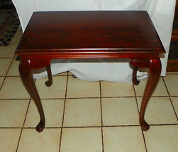 Solid Cherry Tea Table / End Table by Kincaid - $349.00