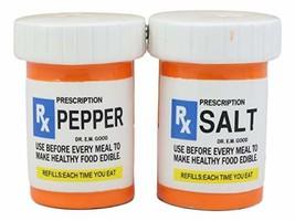 Ebros Rx Pharmacy Prescription Bottles With Instructions Magnetic Salt A... - $13.85