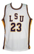 Pete maravich  23 college basketball jersey white  1 thumb200