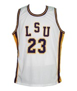 Pete Maravich #23 College Basketball Jersey New Sewn White Any Size - $40.49+