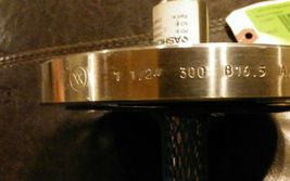 "ASHCROFT Flanged Thermowells 1 1/2 "" 300 816.5 A/SA182 F316/316L MAC HT S14868 image 3"