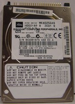 "60GB 2.5"" IDE Drive Toshiba MK6025GAS HDD2189 Free USA Ship Our Drives Work"