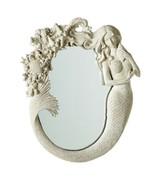 Mermaid Wall Mirror Resin~ Sea Life Beach Ocean Mythical~ Nautical Decor... - $79.20