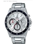 Casio Men's Edifice Quartz Stainless Steel Chronograph Watch EFV-570D-7A... - $150.00