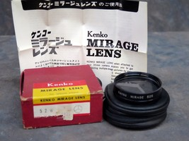 Kenko Mirage 52mm 52S Camera Lens w/ Case For special effect - $9.90