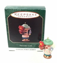 1997 Nutcracker Guild #4 Miniature Hallmark Christmas Tree Ornament Pric... - $9.41