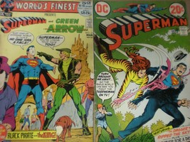 Superman No 256 and 210 in GD  condition. DC comics  - $18.99