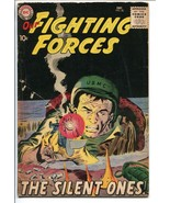OUR FIGHTING FORCES #40-1958-DC-SILVER AGE-SILENT ONES-JOE KUBERT-vg+ - $93.12