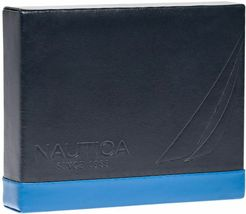 Nautica Men's Genuine Leather Trifold Credit Card ID Holder Wallet 31NU11X026 image 6