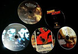 Lot Of 5 Digital PressKits -CD Photos- SNAKES ON PLANE, FINAL DESTINATIO... - $17.77