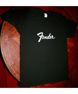 Fender Printed T-shirt~ Casual~Cotton NeW~ XL fits like A medium - $11.43