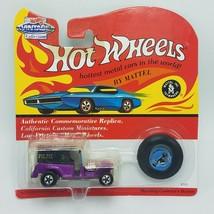Hot Wheels Vintage Paddy Wagon-Metal Bow Dark Purple - $9.97