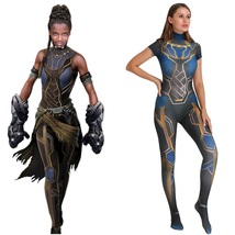 Black Panther Shuri Costume Cosplay Bodysuit For Kids Adult - $51.89