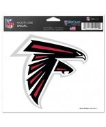 Atlanta Falcons Decal 5x6 Ultra Color Logo**Free Shipping** - $12.45