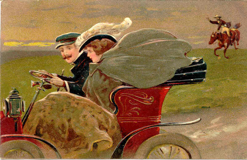 The Chase Paul Finkenrath of Berlin 1906 Post Card