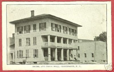 Primary image for GREENWOOD NY Hotel Town Hall New York B&W BJs
