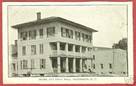 GREENWOOD NY Hotel Town Hall New York B&W BJs - $10.00