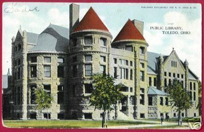 Primary image for TOLEDO OHIO Public Library OH Postcard