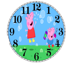 Peppa Pig Wall Clock - $16.99