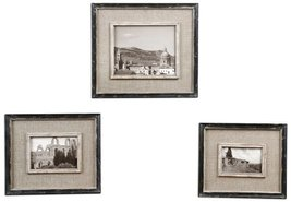 Uttermost Cloth Lined Photo Frames - Set of 3 - $151.80