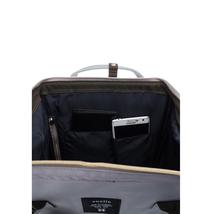 Anello Official Japan Light Grey Regular Backpack Rucksack Diaper Travel Bag image 6