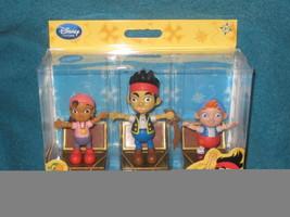 Disney Store Jake and the Neverland Pirates Push Puppets. Set of 3 Brand... - $9.89