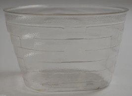Longaberger Oval With Square Bottom Basket Protector No. 49000 Collectible Decor - $9.99