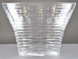 "Longaberger May Geranium Single Basket Protector 6.75"" Tall Accessory Plastic - $12.99"