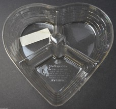 Longaberger Divided Sweetheart Basket Protector No. 40086 Plastic Home D... - $10.99