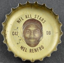 Vintage Coca Cola NFL All Stars Bottle Cap Dallas Cowboys Mel Renfro Cok... - $6.99