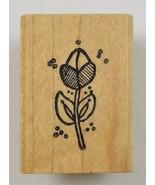 Wod Mounted Rubber Stamp By Azadi Earles Tulip Scrapbook Envelope Arts C... - $6.99