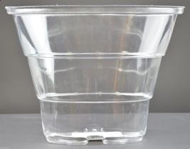 "Longaberger May Geranium Insert Basket Protector 6.625"" Tall Plastic Accessory - $12.99"