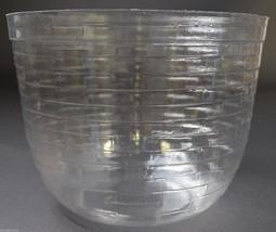 Longaberger Round Basket Protector No. 46035 Plastic Collectible Home Decor - $14.99