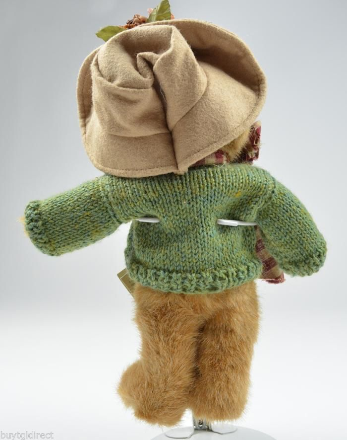 Boyds Bears Friends Collection Mrs Trumbull Collectible Teddy Bear Best Dressed