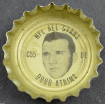 Vintage Coca Cola NFL All Stars Bottle Cap Chicago Bears Doug Atkins Cok... - $6.99