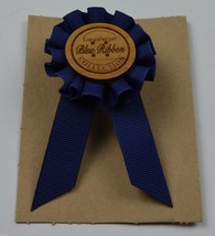 Longaberger Collection Basket Tie-On Blue Ribbon Clip On Accessory Colle... - $11.99