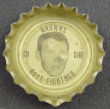 Vintage Coca Cola NFL Bottle Cap Cleveland Browns  Ross Fichtner Coke King Size - $6.99