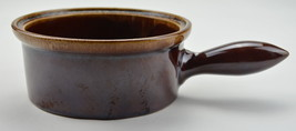 """Vintage Tyler Pottery Drip Handled Soup Bowl 3"""" by 7"""" Collectible Roseville Ohio - $14.99"""