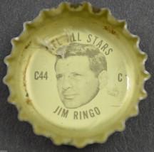 Coca Cola NFL All Star King Size Coke Bottle Cap Philadelphia Eagles Jim Ringo - $6.99