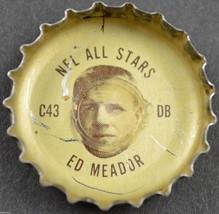 Vintage Coca Cola NFL All Stars Bottle Cap Los Angeles Rams Ed Meador Coke Soda - $6.99