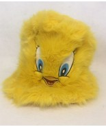 Six Flags Looney Tunes Warner Bros WB Tweety Bird Embroidered Yellow Hat... - $18.66